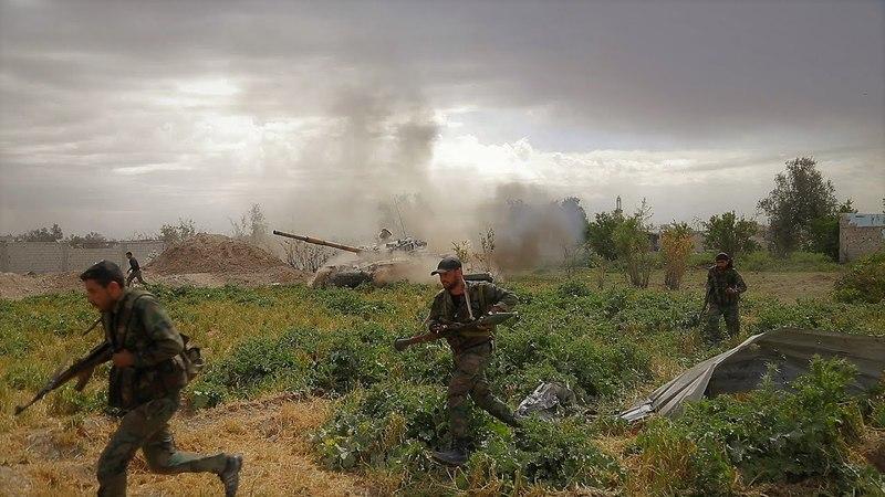 [Syria] Vengeance for the Damascus liberation | Третья Мировая: Месть за освобождение Дамаска