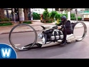 TMC DUMONT Motorcycle with an Airplane Engine