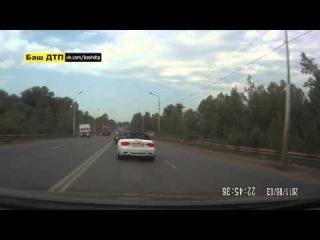 ДТП Уфа-Шакша 10.08.2014 видео с другого регистратора