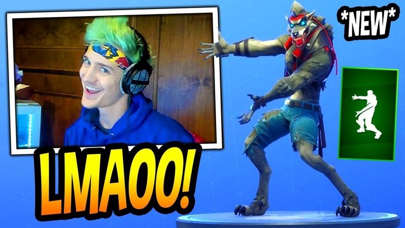 NINJA REACTS TO *NEW* BEHOLD EMOTE/DANCE! Fortnite FUNNY SAVAGE Moments