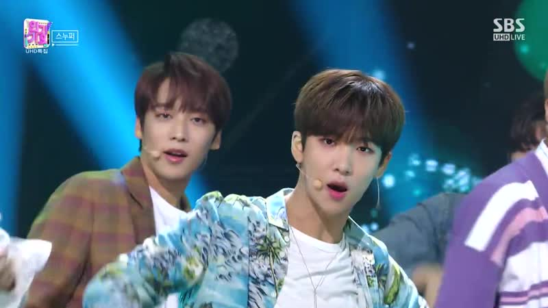 Snuper - You In My Eyes @ Inkigayo 181021
