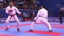 Zabiollah Poorshab (IRI) - Ahmed Elmasry (EGY) - Karate 1 Paris 2018 - Final Kumite Male -84Kg
