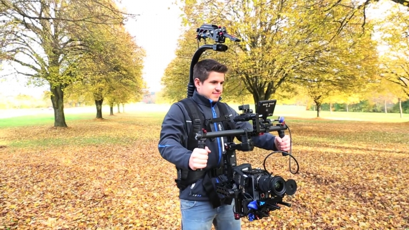 Must Watch!! Incredible shots with Flycam Flowline camera Rig With Placid Stabilizing Arm