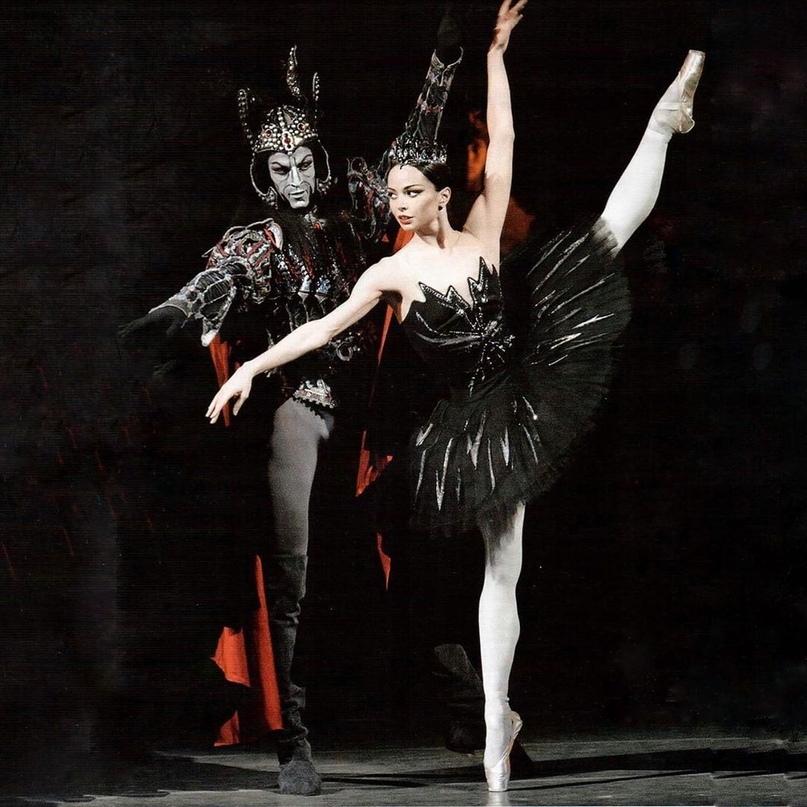 """Диана Вишнёва - Одиллия в балете """"Лебединое озеро"""", Мариинский театр"""