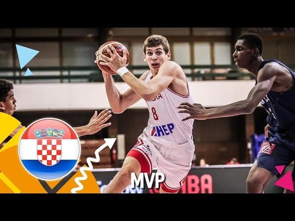 Roko Prkacin - Croatia - MVP - FIBA U16 European Championship 2018