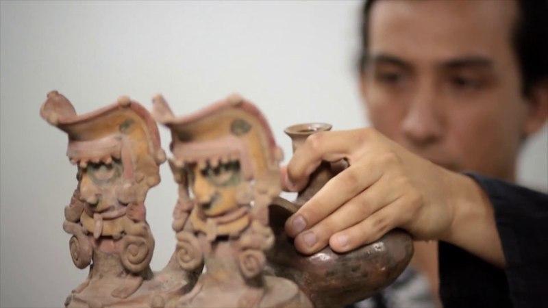 GALERIA DE SONIDOS - OBJETOS SONOROS PRECOLOMBINOS - MUSEO MAAC - GUAYAQUIL