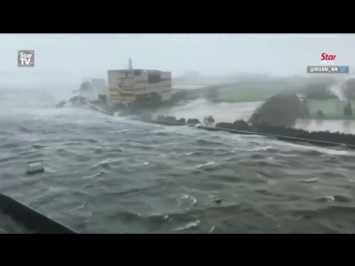 Japan issues evacuation advisories for 1 million as typhoon hits west coast