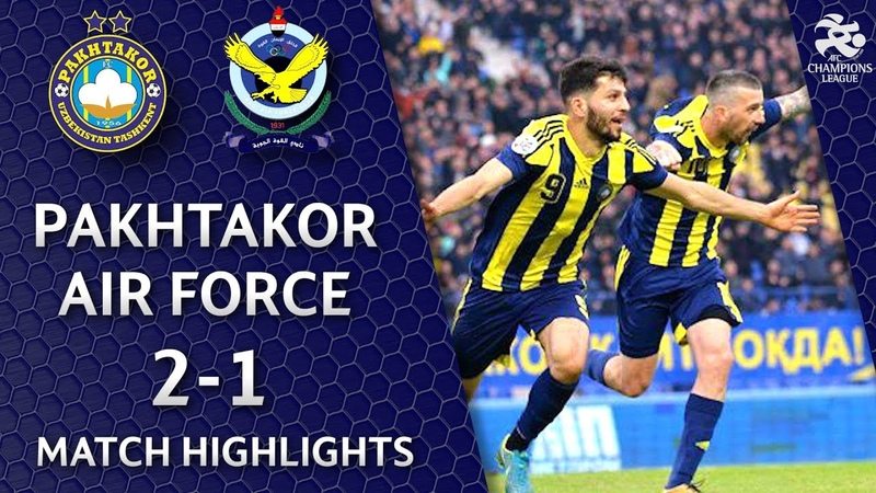 🇺🇿 Pakhtakor - Air Force 🇮🇶 - 2:1   Match highlights   ACL Play off (12.02.2019)