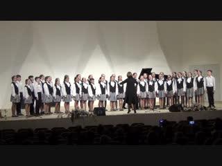 15)Спасибо, музыка, тебе! ДШМ №4 - Сводный хор ДМШ №4 - Детство 27.04.2018 (Нижнекамск)