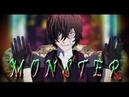 【MMD文スト】MONSTER(full ver【だざい】