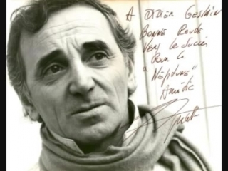 Charles Aznavour Une vie damour