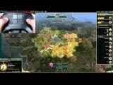 Первая демонстрация контроллера Steam в двух играх: Civilization 5 и Portal 2:
