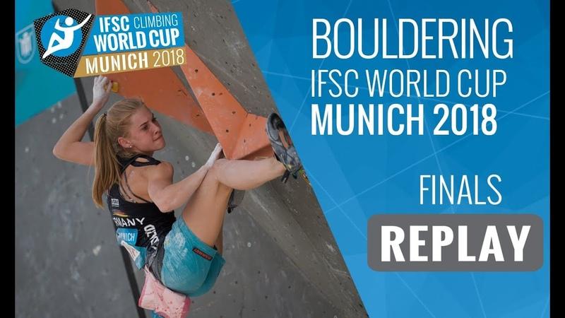 IFSC Climbing World Cup Munich 2018 - Bouldering - Finals - MenWomen