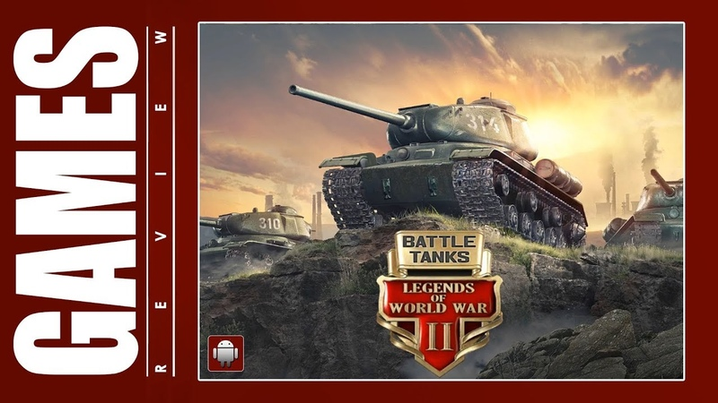 Battle Tanks: Legends of World War II (Android) Gameplay ᴴᴰ