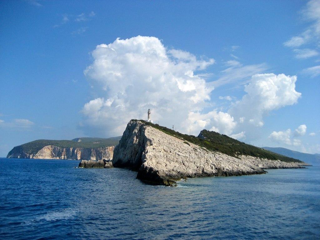 1. Остров Левкада.