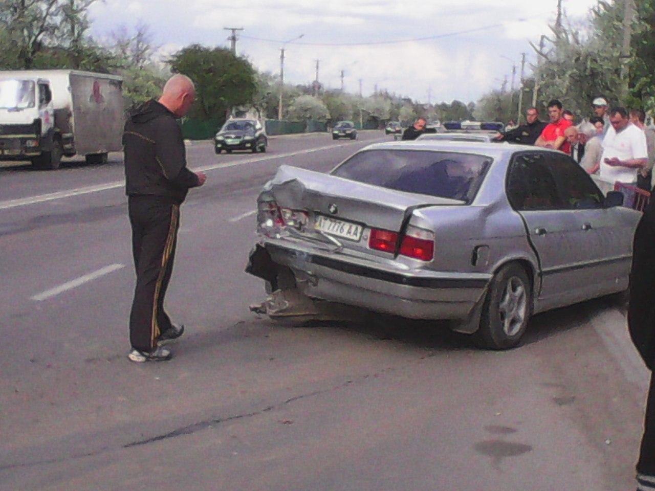 Чергова аварія в івано франківську