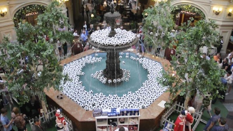 №2 Москва ГУМ фонтан
