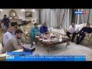 Кадыров радушно принимал египтян в Грозном, но болел за сборную России - Вести 24