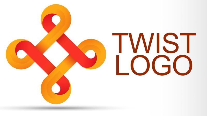 Twist Logo Design Tutorial in Adobe Illustrator