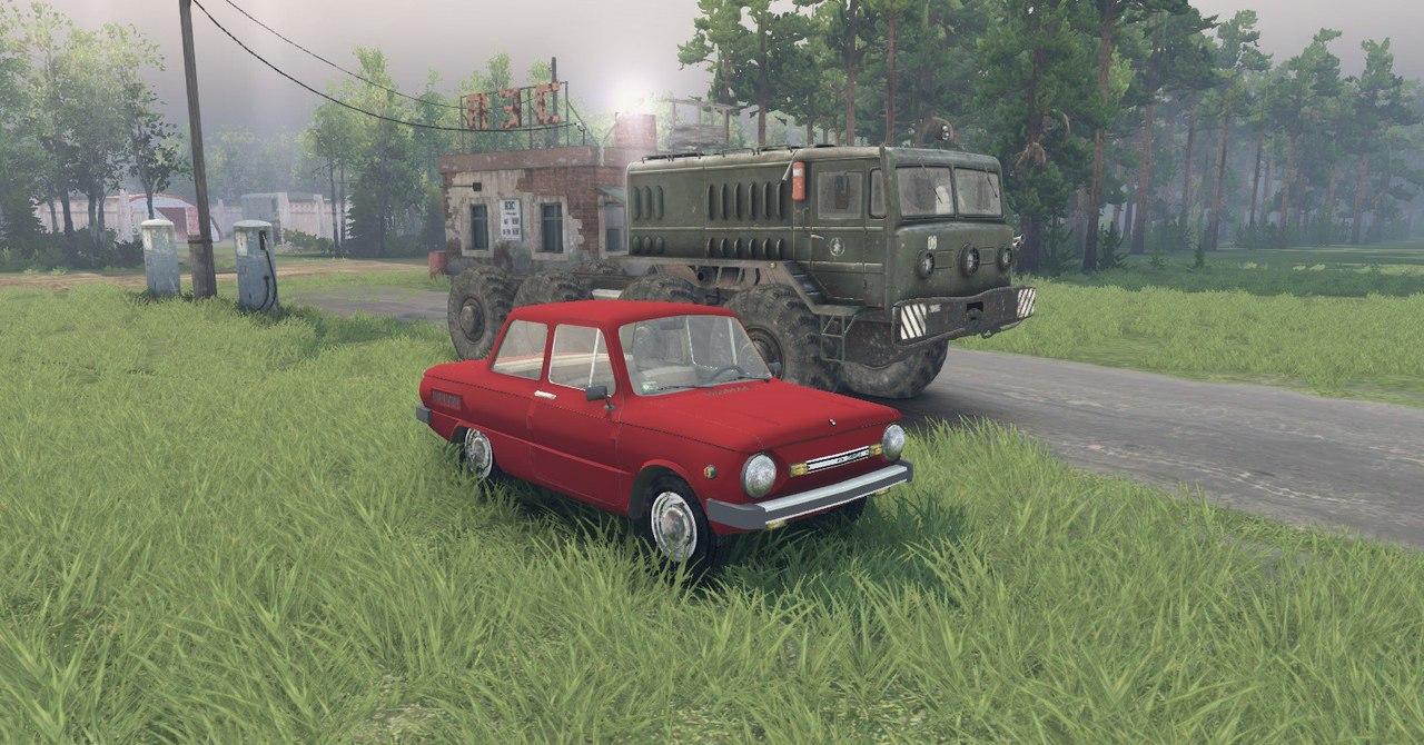 ЗаЗ 968М для Spintires - Скриншот 3