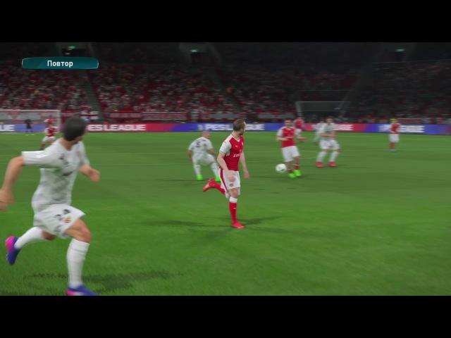 Cool manual-shot goal by Andres Iniesta