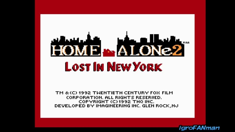 Home Alone 2 Lost in New York(Gameplay DENDYNES)