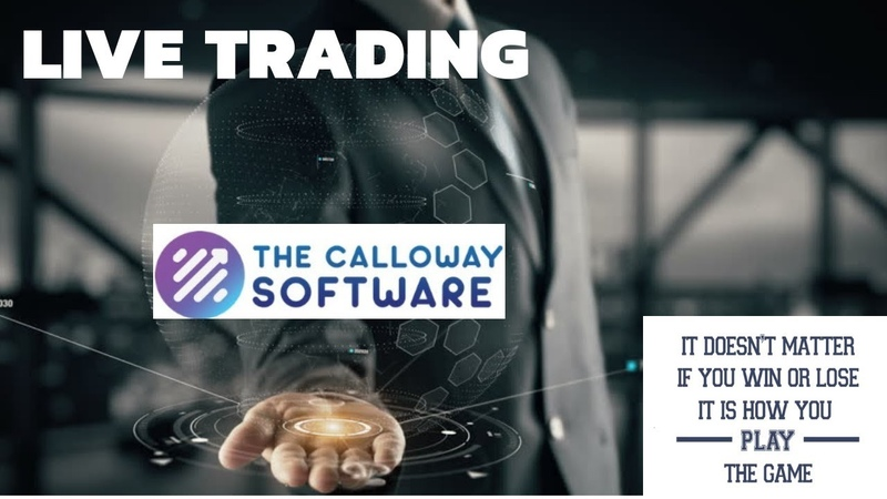 The Calloway Software Regular Trading Update - Losing Trades Are Part Of Trading! Live