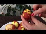 Как Покрасить Яйца на Пасху - Очень Просто