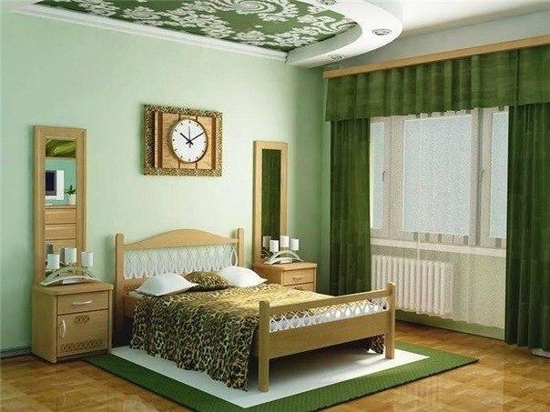 Спальня в сиреневых тонах фото.