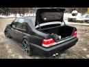 Знакомство с BRABUS 7.3S W140 V12 585 сил! Mercedes-Benz S-Class BENTLEY BENTAYGA
