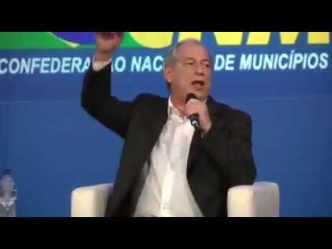 Ciro Gomes x Bolsonaro, resposta da primeira pergunta no diálogo com os municípios