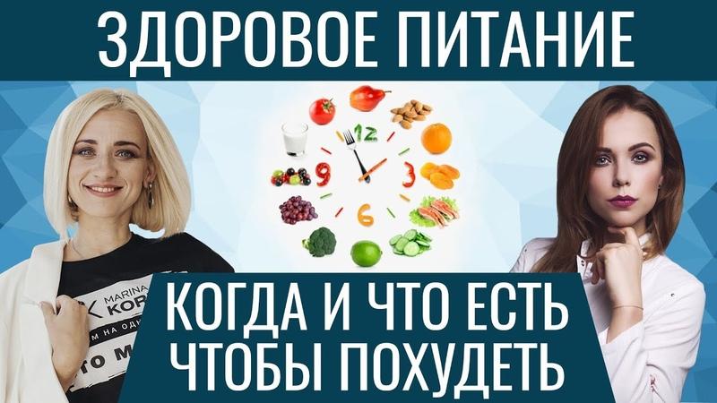 ПРАВИЛЬНОЕ ПИТАНИЕ. Что когда есть чтобы похудеть. Марина Корпан и Арина Тертышная про питание (18)