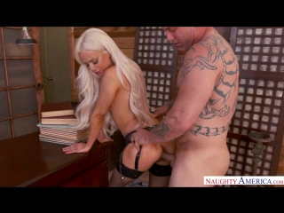 Elsa Jean – Naughty Office [NaughtyAmerica, HD 1080. Blow Job, Blue Eyes, Caucasian, Cum in Mouth, Natural Tits, Shaved]