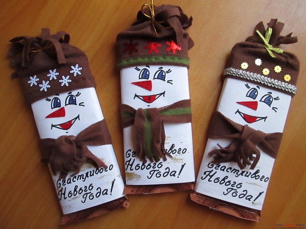 Шоколадка с сюрпризом своими руками