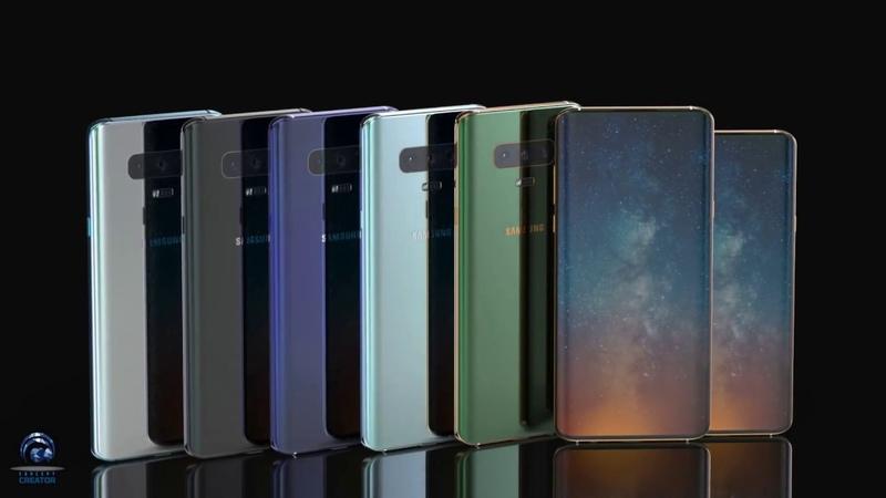Лучший рендер Samsung Galaxy S10 и S10 Plus убийца всех флагманов