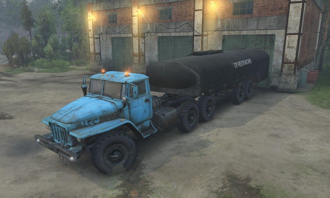 Урал-375 для 03.03.16 для Spintires - Скриншот 3