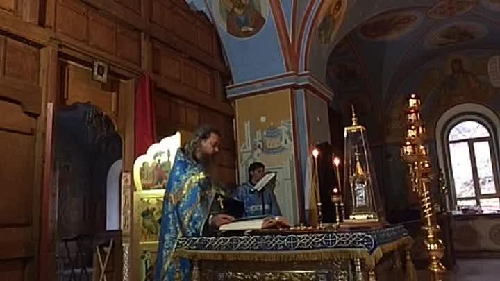 В 8.00 - Божественная литургия в Пронском монастыре. Праздник в честь иконы Богородицы «Всех скорбящих радость «