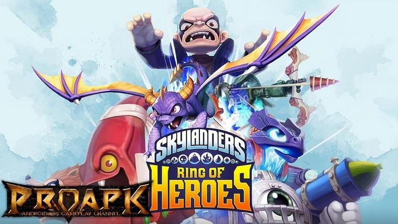 Skylanders Ring of Heroes Android Gameplay (CBT) (by Com2uS)