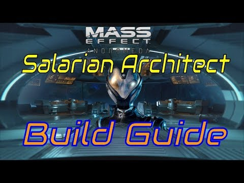 Gold SOLO Salarian Architect Mass Effect Andromeda Multiplayer