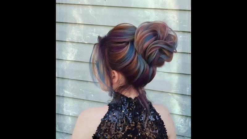 Как красиво смотрится с таким цветом волос