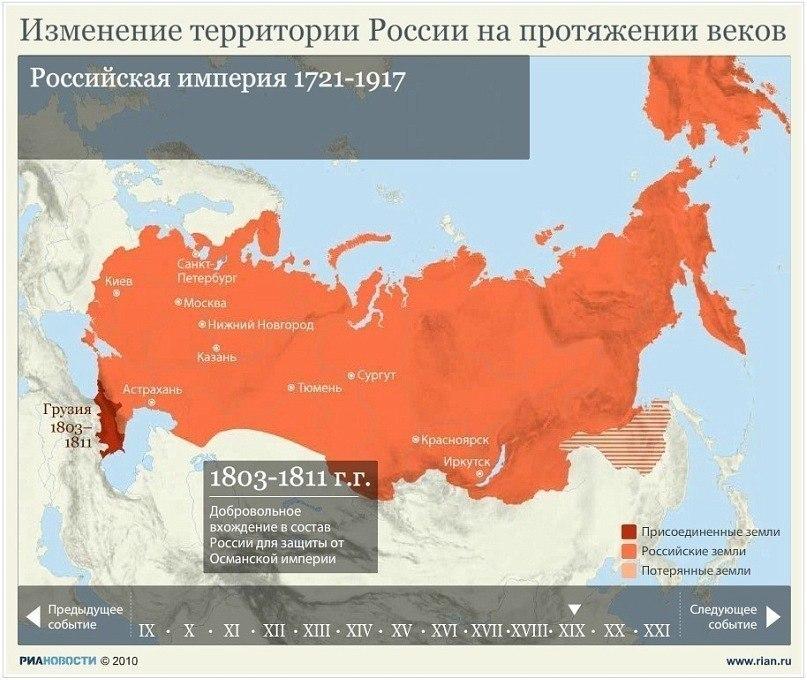 Изменение территории России на протяжении веков 4cm2mGfK-jM