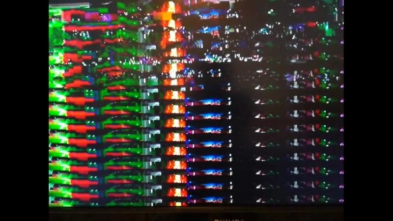 Полторы минуты глюков моего телевизора