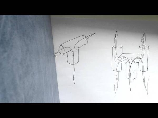 Дефлектор на дымоход ракетная печь rocket stove ロケットストーブ