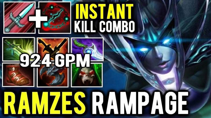 Triple Stifling Dagger Soul Bind Combo - Ramzes Rampage Phantom Assassin Juggernaut
