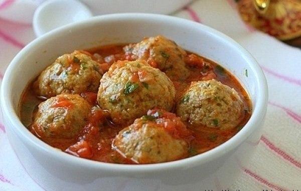 Фрикадельки в томатном соусе в мультиварке рецепт с фото