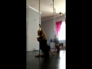 Poleography,хореография у пилона. Связка с урока. Tanya Feel.