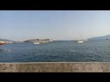 Саранде побережье Ионического моря. Июнь 2018 Албания. Серж Романский Актау