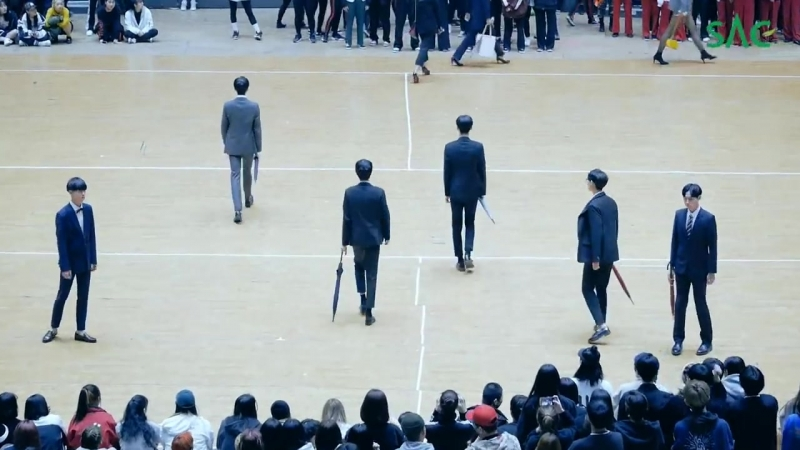[싹튜브] SAC다뛰어! 2018 서울종합예술실용학교 체육대회 모델예술계열 런웨이 퍼포먼