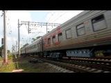 Электровоз ЧС2Т-995 с поездом №212 (Москва → Мурманск)