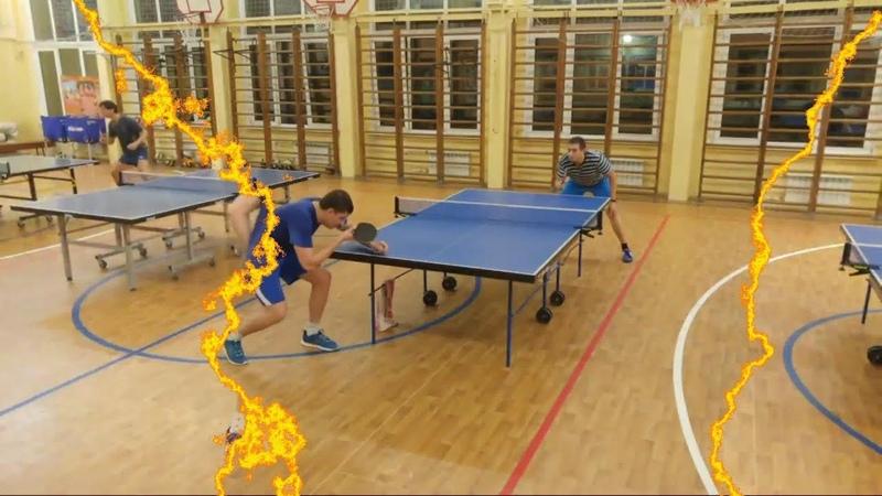 The Best table tennis момент матча Кириллов Д Роскошный Я турнир ttplayspb в Купчино 19 10 18